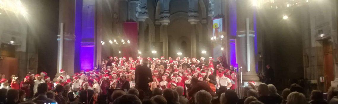 15 décembre 2019 Concert de Carols avec le Sylf Cathédrale St Charles